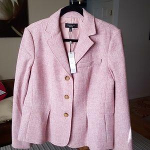 NWT Talbots Grace fit Flattering classic blazer 14